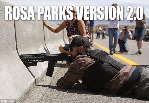 Rosa Parks Bundy Sniper