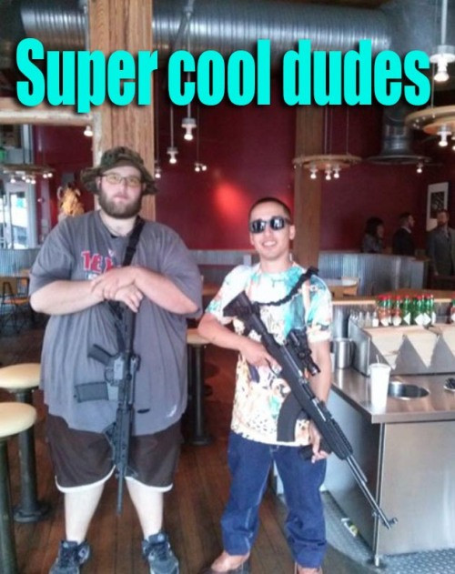 Super Cool Dudes Fat Chipotle Gun Guy